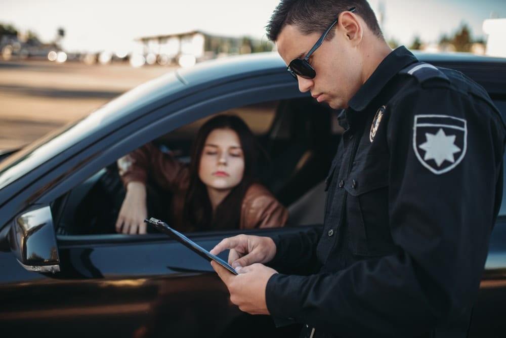 maryland traffic violation